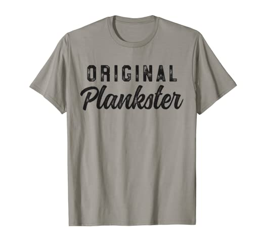 41fa373c1a2 Image Unavailable. Image not available for. Color  Original Plankster Funny  Pilates T-Shirt ...