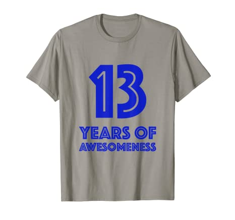 Image Unavailable Not Available For Color 13th Birthday Shirt Gift Boys