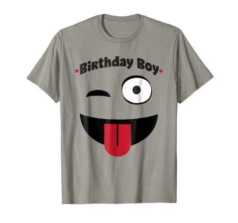 Image Unavailable Not Available For Color Emoji Birthday Shirt Boy
