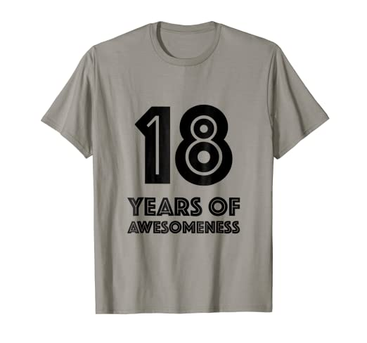 Image Unavailable Not Available For Color 18th Birthday Shirt Gift