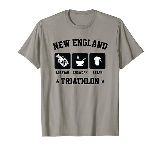 10afe755b Amazon.com: New England Triathlon Lobster Clam Chowder and Beer t ...