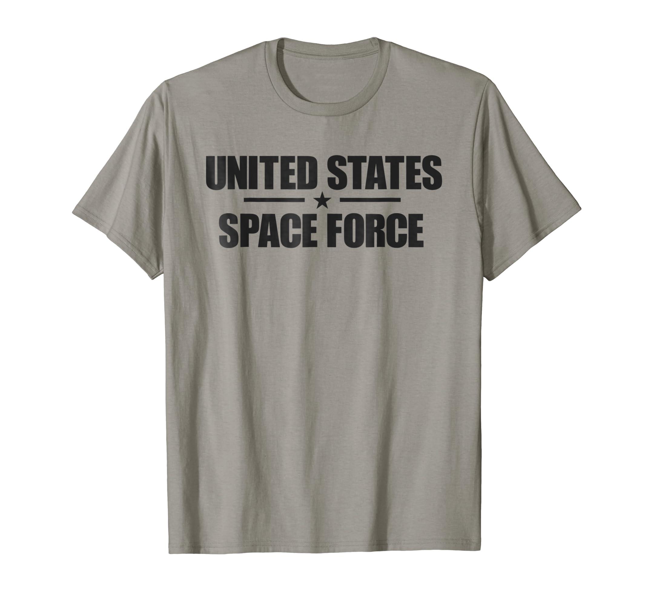 6f60502643 Amazon.com: U.S. Space Force T-shirt: Clothing