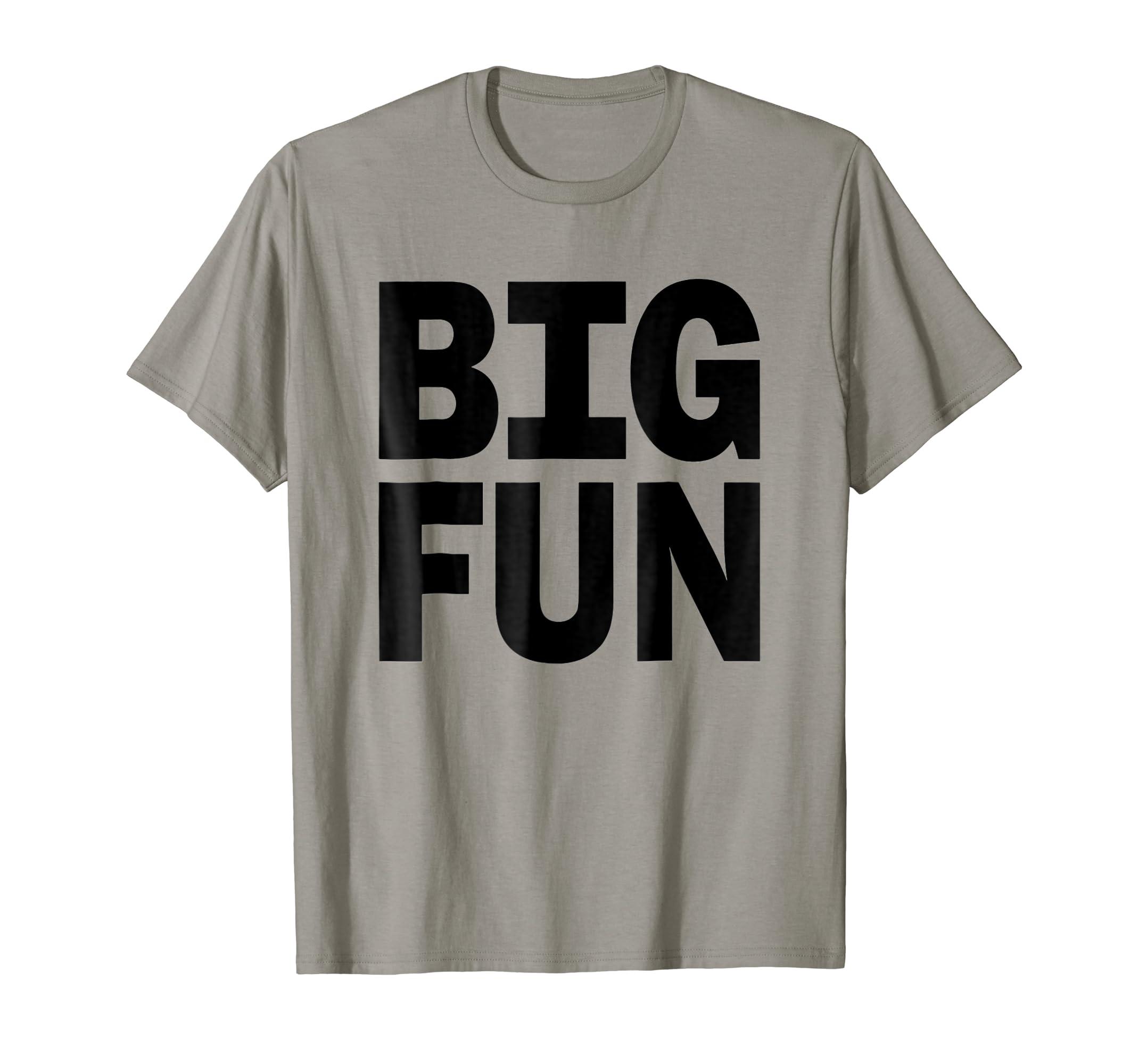 63be43109 Amazon.com: Big Fun - Heather T Shirt: Clothing