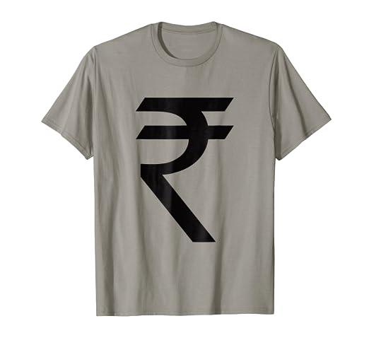 Amazon Indian Rupee Symbol Rs T Shirt Pakistan Currency Money