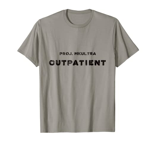 Amazon com: Cool Conspiracy Theory T-Shirt Project MKULTRA