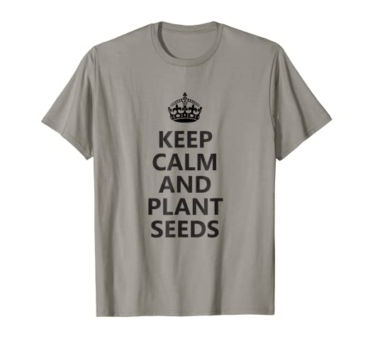 1bc1f406 Image Unavailable. Image not available for. Color: Cool Vegan T-Shirt Plant  Seeds ...