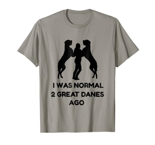 f29043ae Image Unavailable. Image not available for. Color: Funny Great Dane Shirt  ...