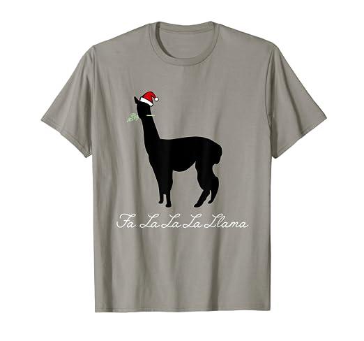 509ca454e1a Image Unavailable. Image not available for. Color  Fa La La La Llama Shirt  ...