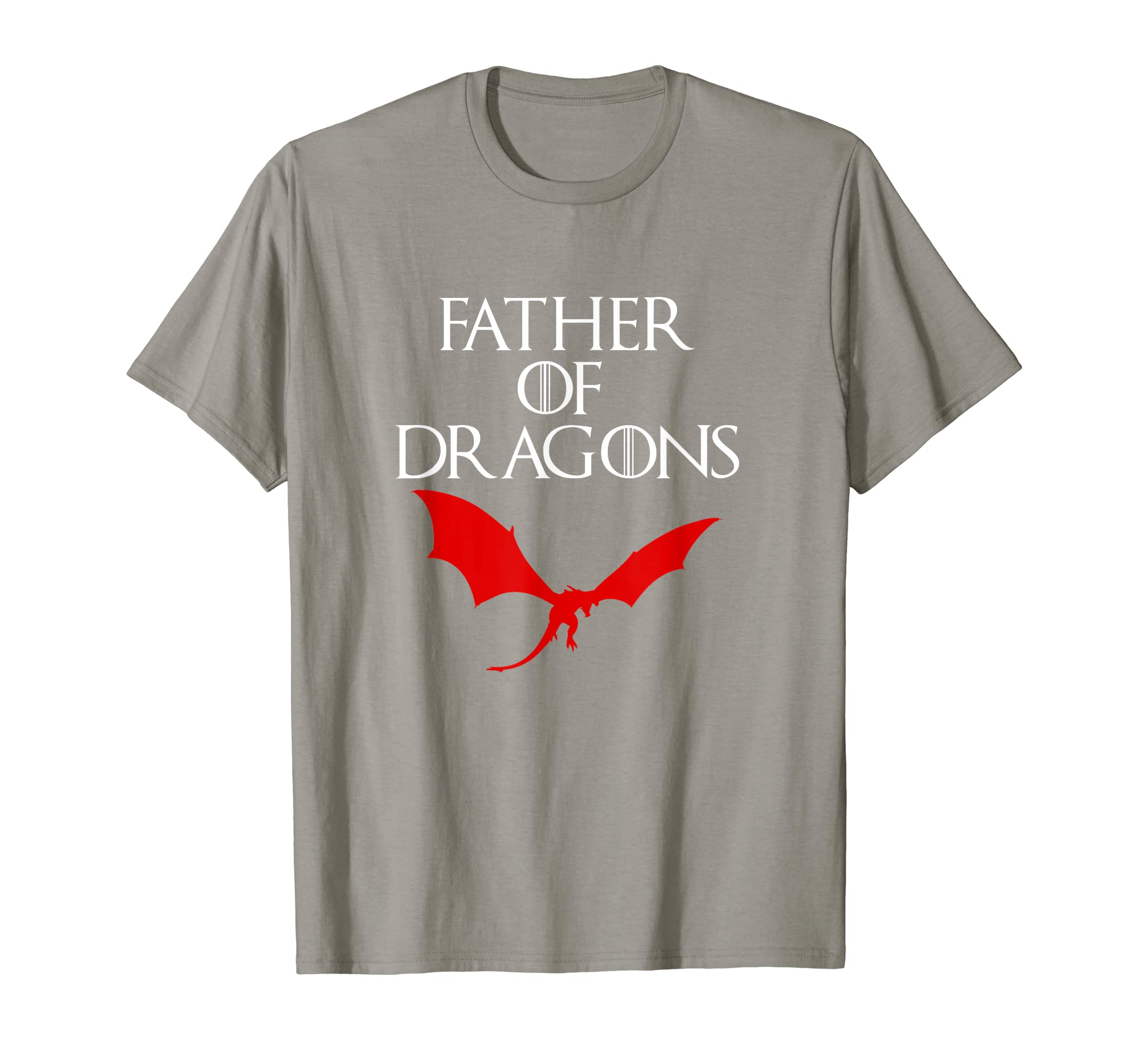 d39256d9 Amazon.com: Mens FATHER OF DRAGONS T SHIRT Gifts for Dads from Son  Daughter: Clothing