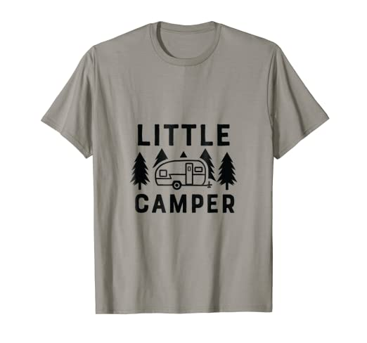 f539ed2a7 Amazon.com: Little Camper Cute Graphics Tee Shirt for Kids Boys ...