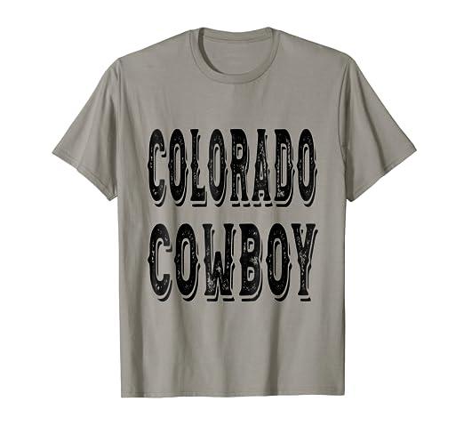Amazon.com  Colorado Cowboy T-Shirt  Clothing e3ee3caf3