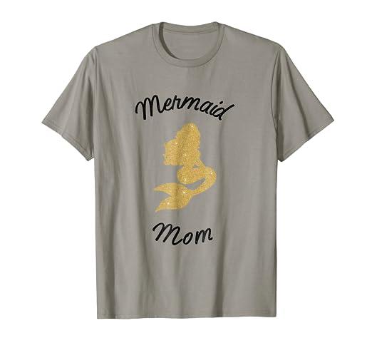 Amazon Cute Mermaid Mom Shirt Squad Birthday Gift Clothing