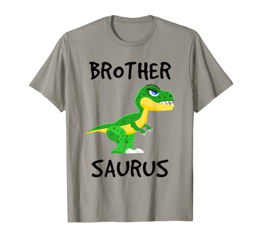 89dd36ad Image Unavailable. Image not available for. Color: T-Rex Brother Saurus  Shirt - Funny Dinosaur Lover Gift Shirt