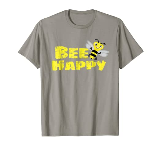 e7f82f32805 Image Unavailable. Image not available for. Color  Bee Happy T-shirt for  Kids ...