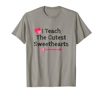 Amazon Com Teacher Valentines Day Shirt Funny School Teacher Gift