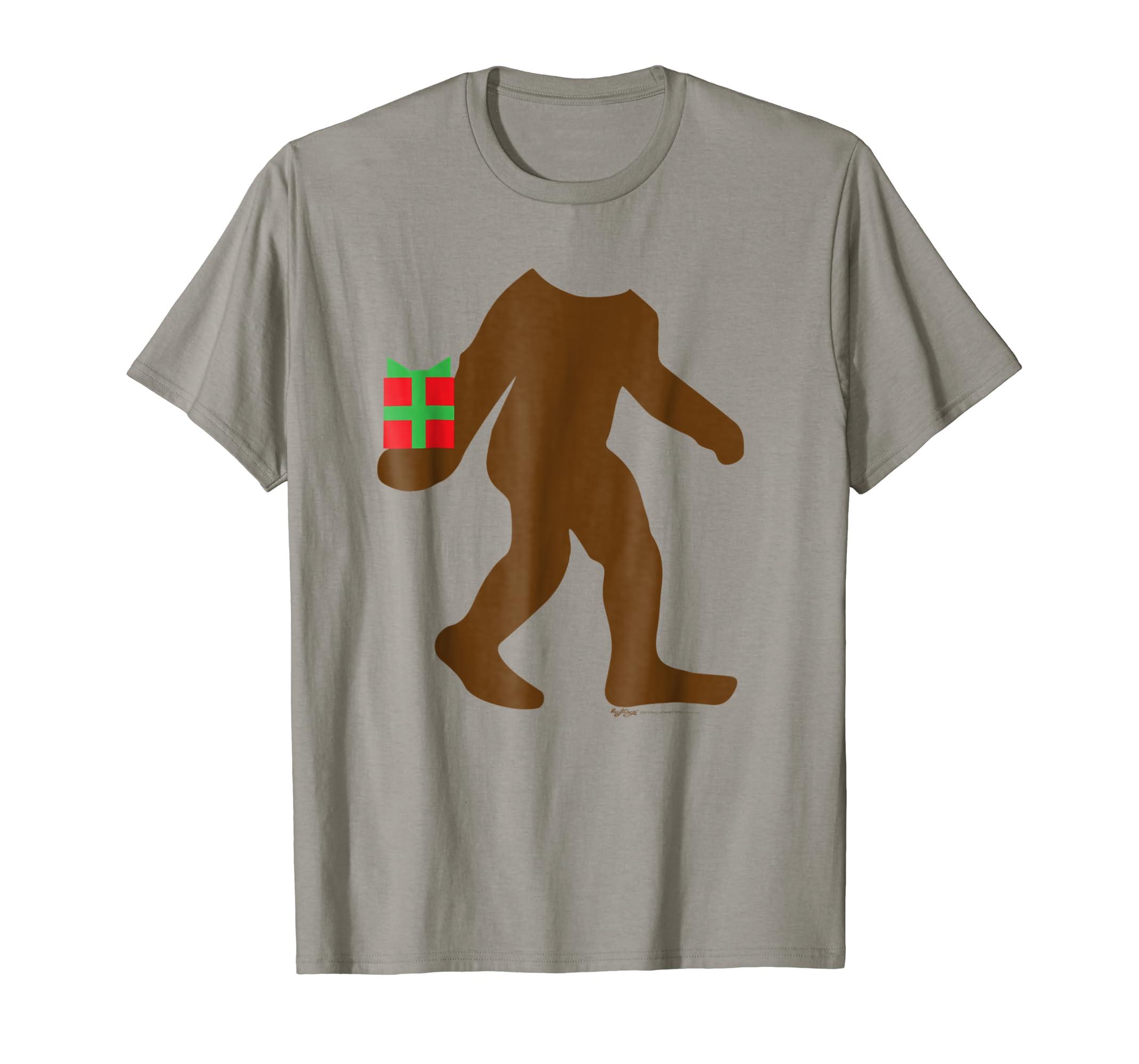 Bigfoot Sasquatch Yeti Believe Christmas Costume T-Shirt-SFL