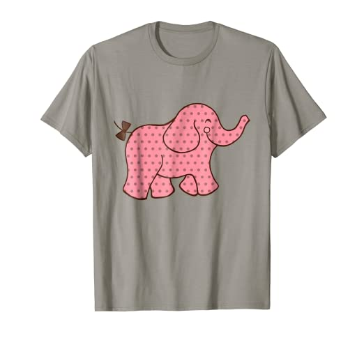 442d720822d5 Image Unavailable. Image not available for. Color  Pink Elephant T-Shirt