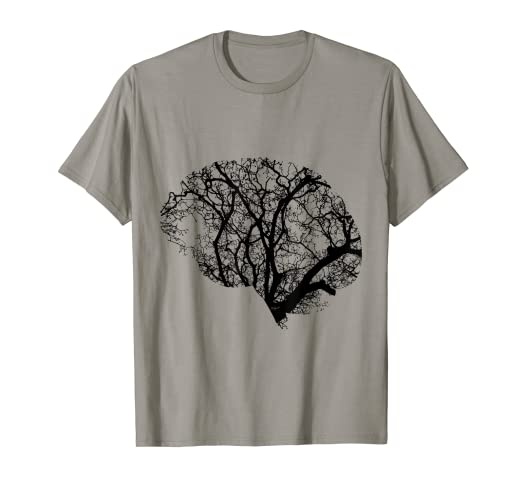 b941ec4eb6a Amazon.com  NEURONS BRAIN T Shirt  Clothing