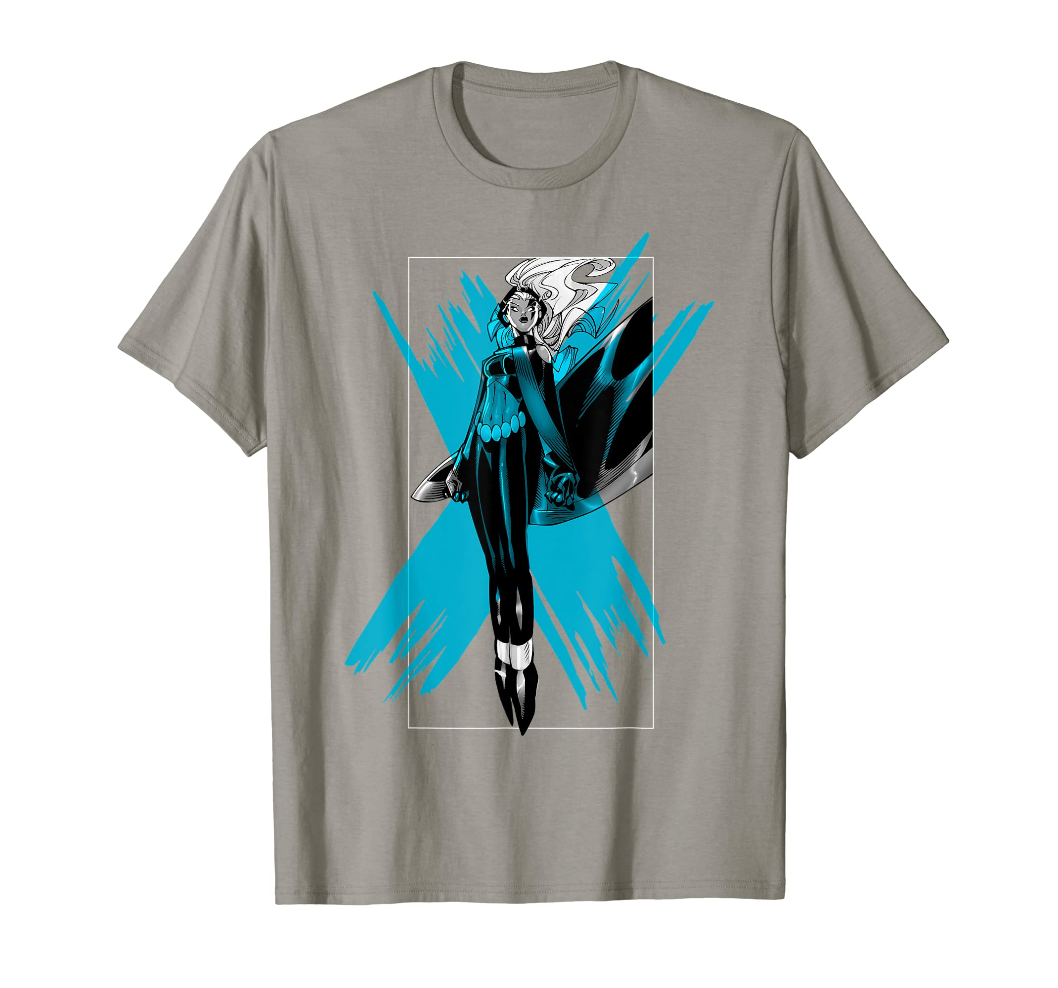 c7289e9b Amazon.com: Marvel X-Men Storm Color Pop Box Graphic T-Shirt: Clothing