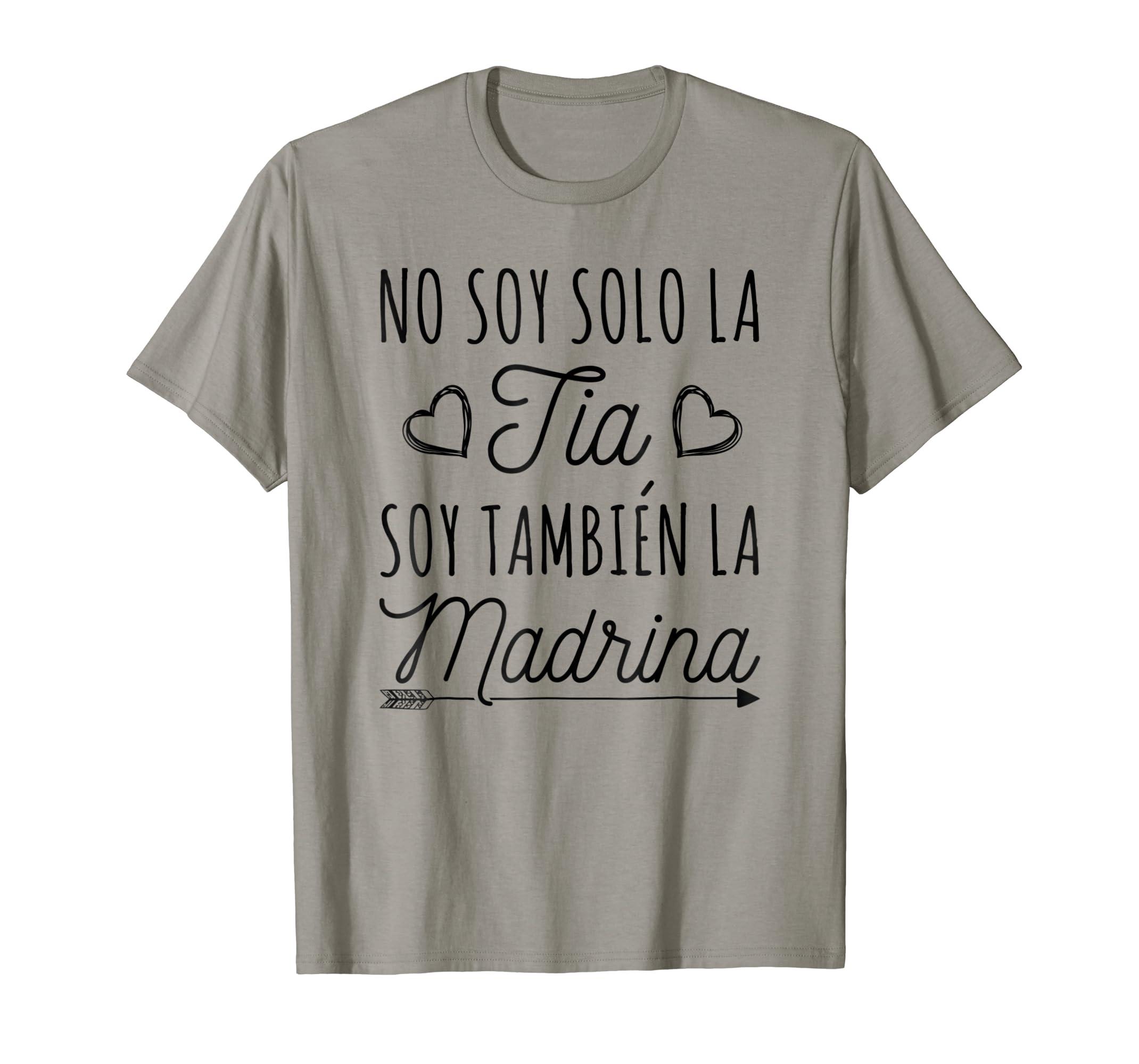 e70e3e154f572 Amazon.com: No Soy Solo La Tia Soy Tambien La Madrina Spanish T ...