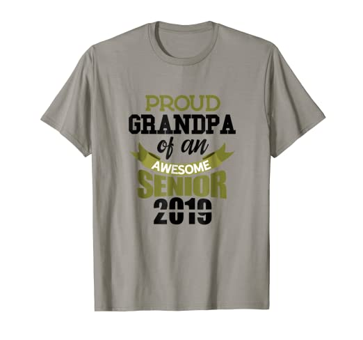 23ec203058e Image Unavailable. Image not available for. Color  Senior Class Of 2019  Tshirt ...