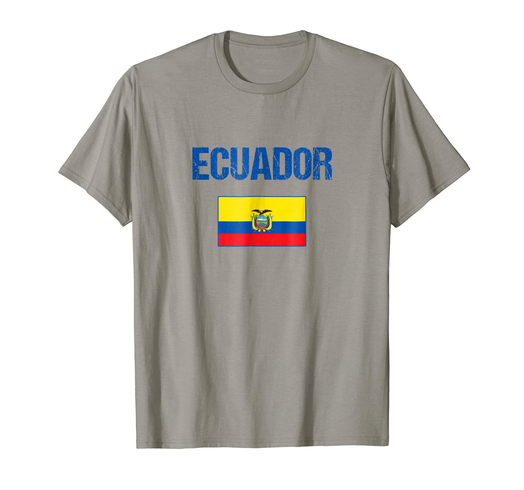 Amazon.com: Ecuador T-shirt Ecuadorian Flag Tee For Men/Women/Youth/Kids: Clothing