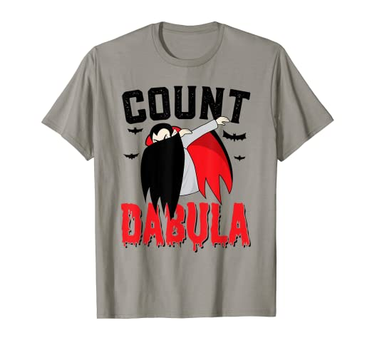 952b53b0 Image Unavailable. Image not available for. Color: Halloween Dab T-Shirt  Count Dabula Tee Dabbing Kids Adult
