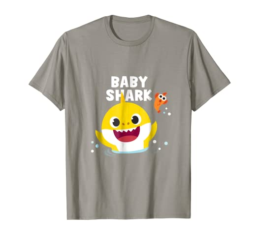 22f760f6 Image Unavailable. Image not available for. Color: Pinkfong Baby Shark t- shirt ...