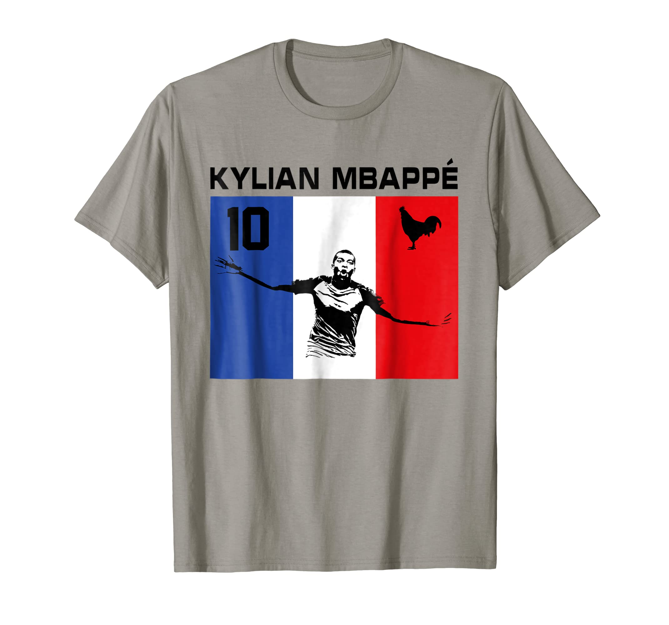2018 Kylian Mbappe Soccer No10 France funny Tee-ln