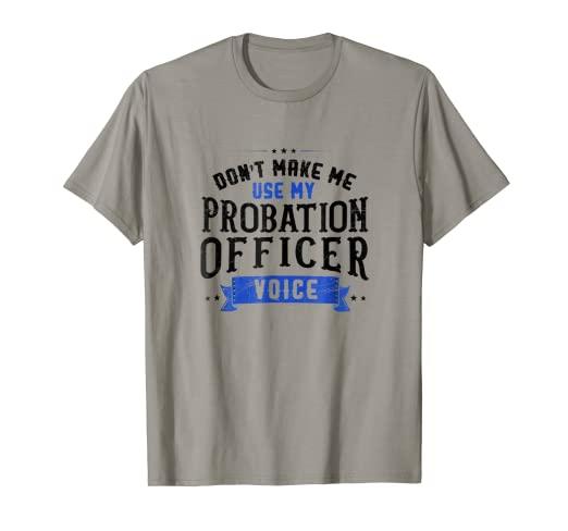 3d286120 Image Unavailable. Image not available for. Color: Probation Officer | Corrections  Law Enforcement T Shirt