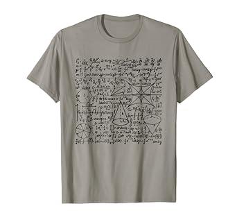 30283784b Amazon.com: Math Equation T-Shirt Cool Quadratic Formula Geek Nerd ...