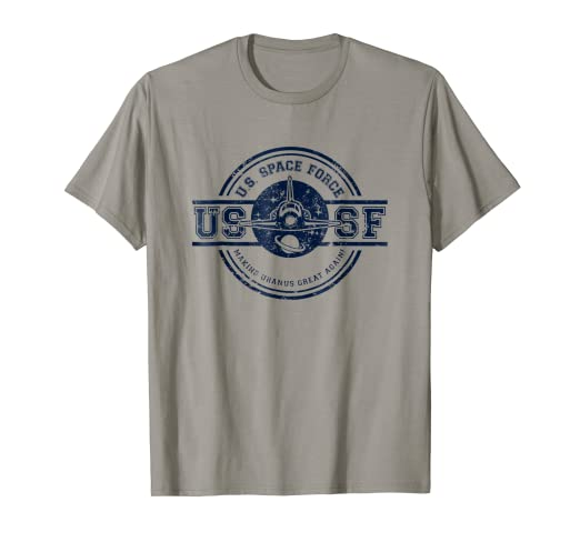 b318181c Image Unavailable. Image not available for. Color: US Space Force T-Shirt  Funny Trump ...