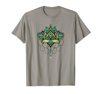 Amazon Lotus Flower T Shirt Spiritual Buddhist Symbol Tee Clothing