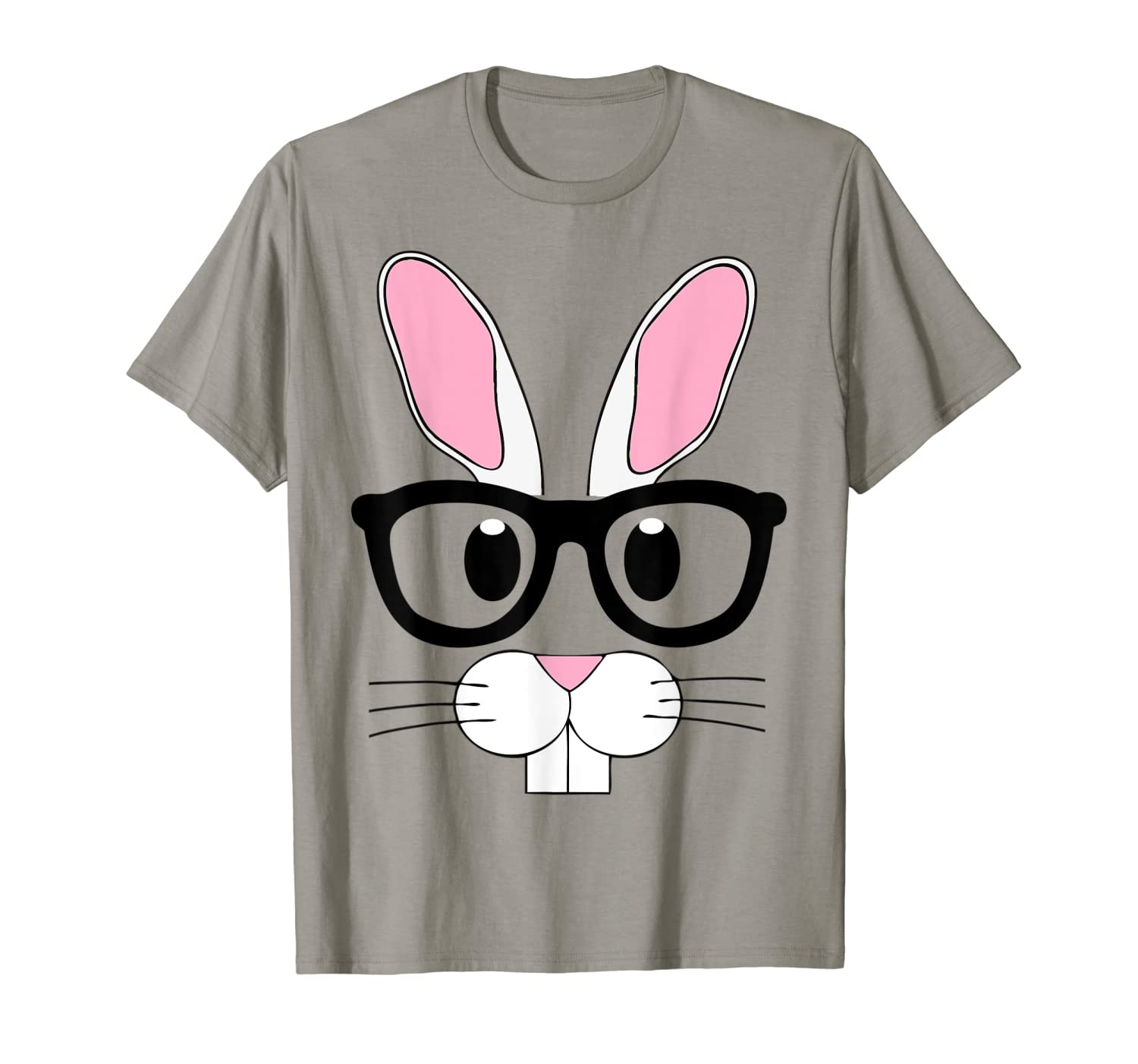 Nerd Emoji Bunny Easter Shirt Outfit Boys Girls Toddlers