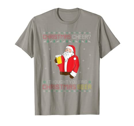265d66e9a7 Image Unavailable. Image not available for. Color: Beer Ugly Christmas  Sweater ...