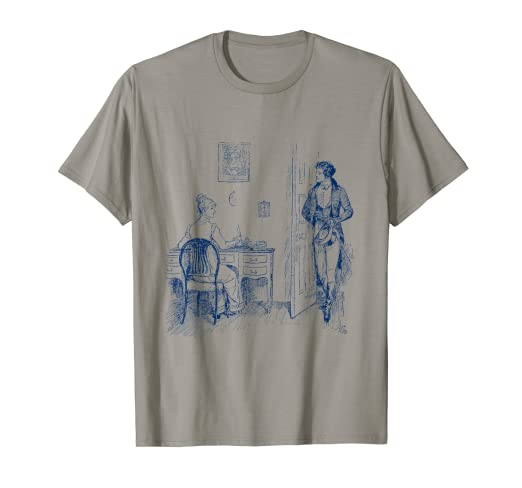 06d89ff4 Image Unavailable. Image not available for. Color: Pride and Prejudice T- Shirt. Jane Austen ...