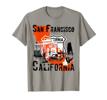 320479ee Image Unavailable. Image not available for. Color: San Francisco California T  Shirt