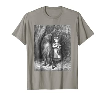 a4aeaae0 Image Unavailable. Image not available for. Color: Little Red Riding Hood T- Shirt