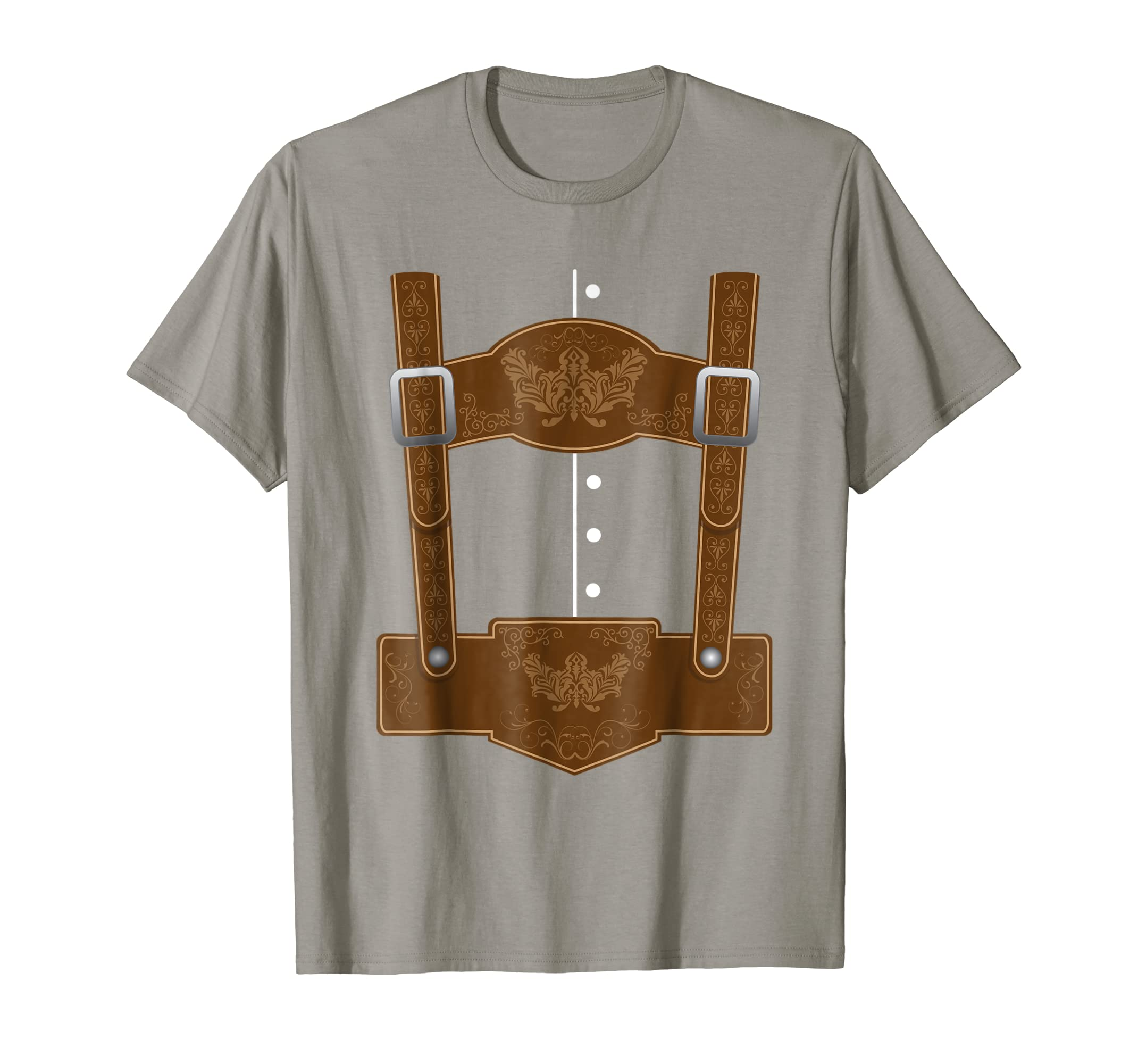 710f3ecc Amazon.com: Oktoberfest Lederhosen T-Shirt - Funny German Bavarian Shirt:  Clothing