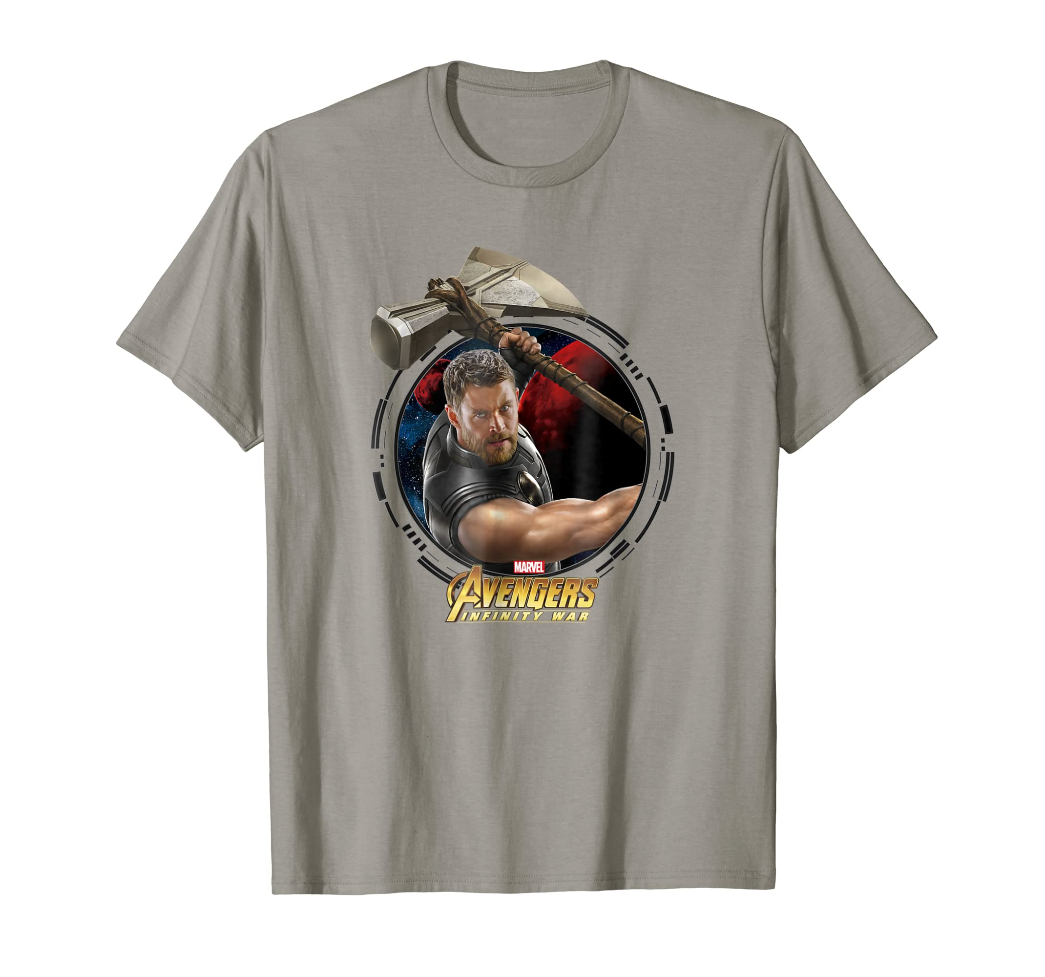 19288e7e8d1 Amazon.com  Marvel Infinity War Thor And Stormbreaker Graphic T-Shirt   Clothing