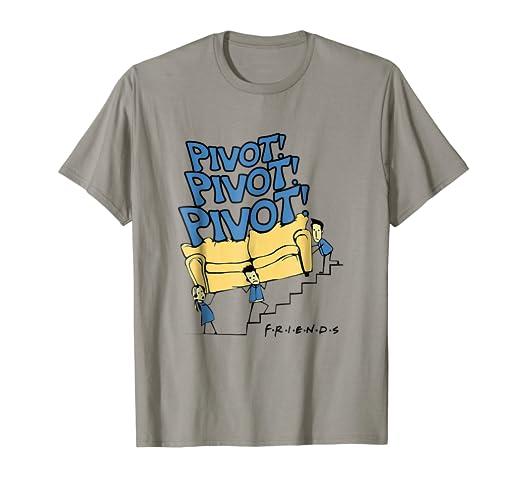 rivenditore online 1ae2a 6e265 Amazon.com: Pivot Pivot Pivot Funny Friends Tshirt: Clothing