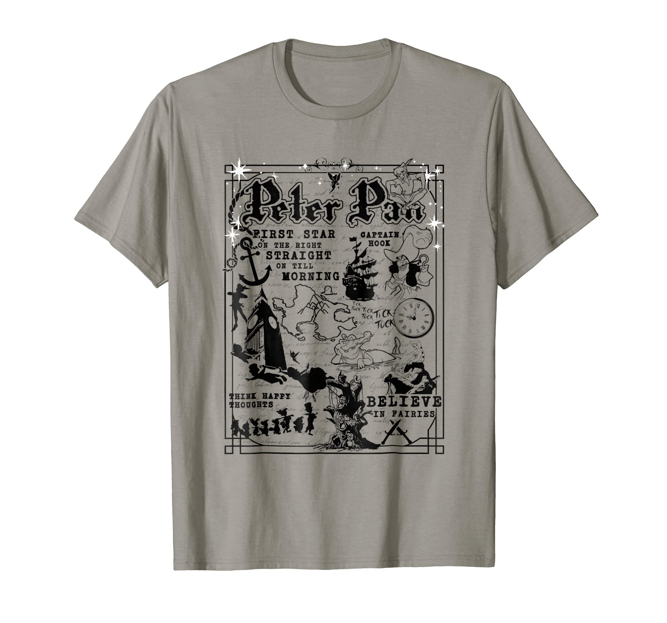 Amazoncom Disney Peter Pan A Travelers Guide To Never Land T
