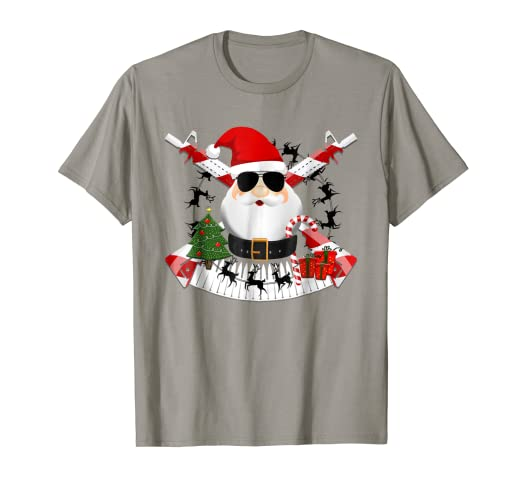 e476ee9c Image Unavailable. Image not available for. Color: Funny AR-15 Santa  Military Christmas TShirt Design