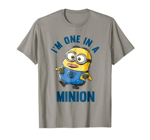 b9fd351e2 Image Unavailable. Image not available for. Color: Despicable Me Minions  Dave One In A Minion Graphic T-Shirt