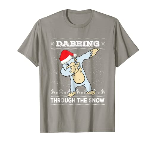 f12f36008 Image Unavailable. Image not available for. Color: Dabbing Bigfoot T-Shirt  ...