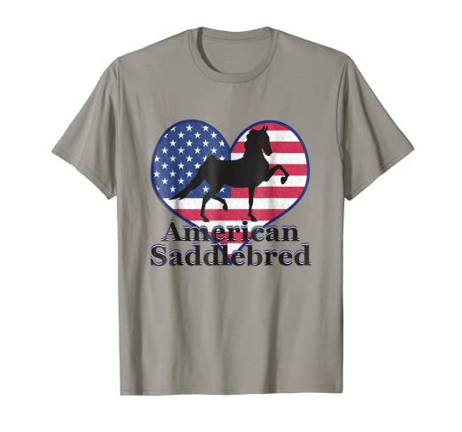 808398c6 Amazon.com: American Saddlebred Horse Training Gaited Horses Men T ...