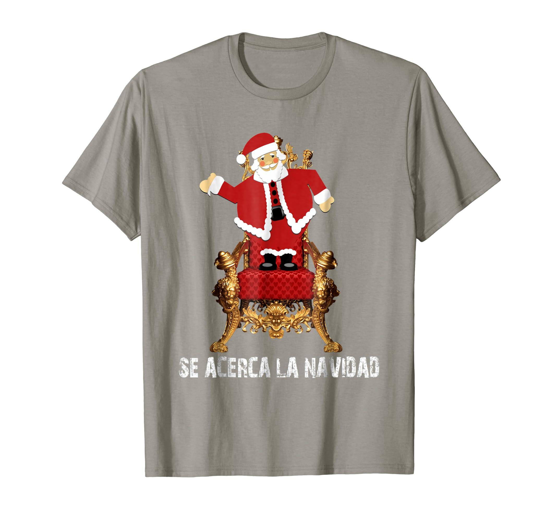 Amazon.com: Camiseta divertida de la Navidad del trono del bast T-shirt: Clothing