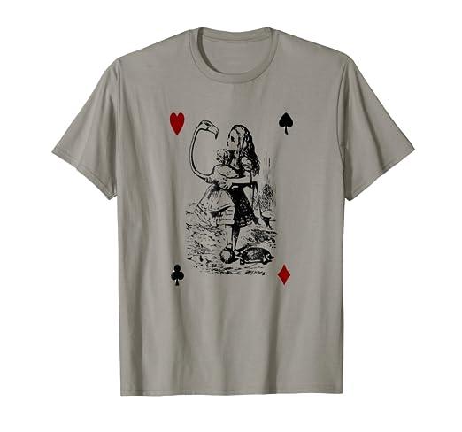 f78af1baf Image Unavailable. Image not available for. Color: Alice in Wonderland-Men  Women kids T Shirt