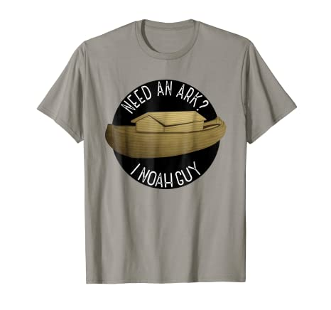 635516d2e Image Unavailable. Image not available for. Color: Need An Ark I Noah Guy  Kids Mens And Womens T-shirt