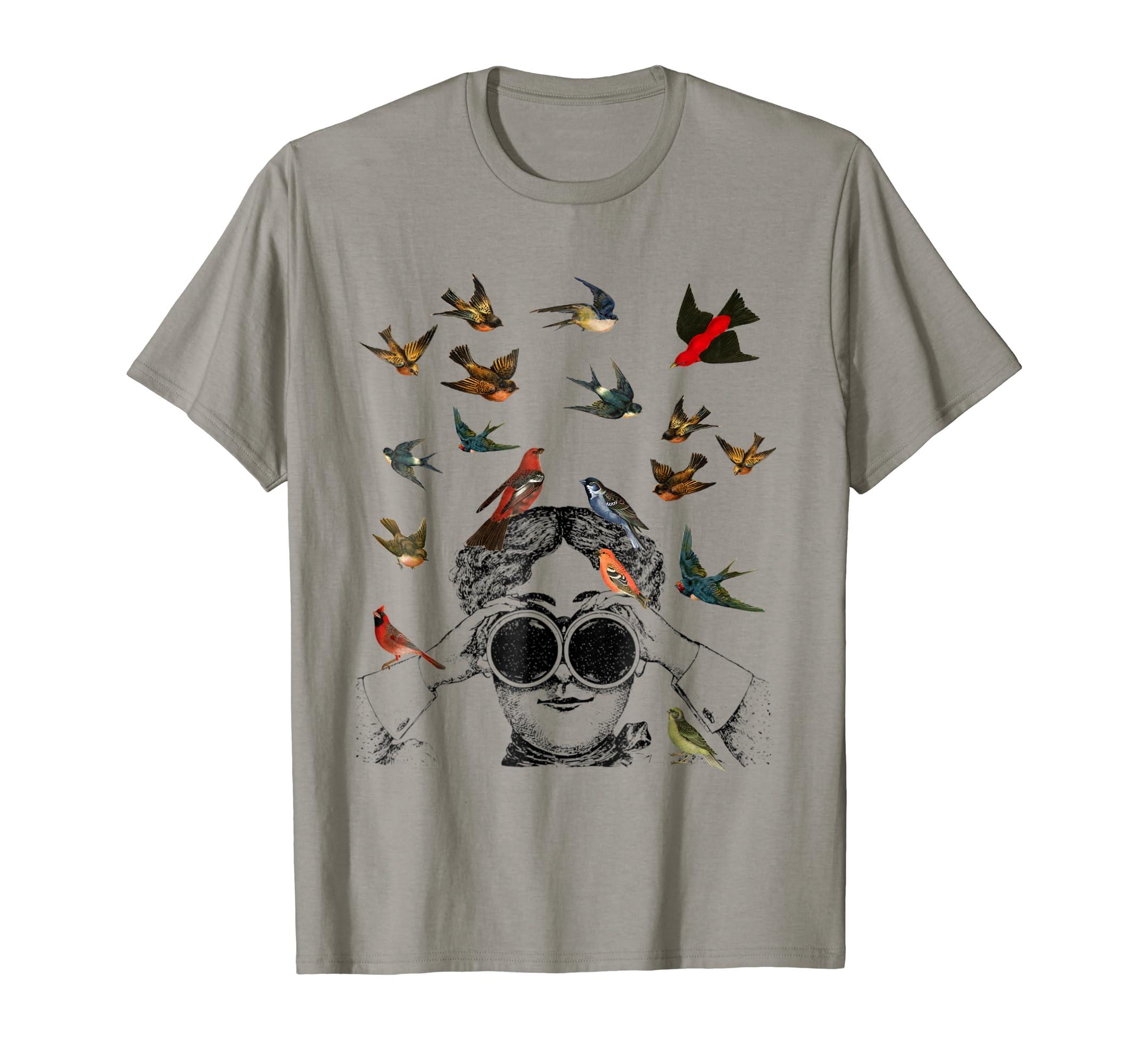 Birdwatching gifts ornithologist twitcher Bird lover Tshirts-AZP